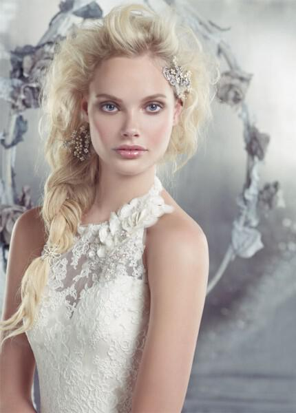 nifika-2013_alvina-valenta-bridal-lace-silk-faced-duchess-fluted-gown-sweetheart-halter-jewel-flower-low-back-buttons-9302_zm