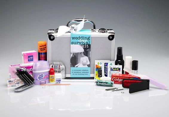 Γαμήλιο Kit Επιβίωσης ή κουτί έκτακτης ανάγκης για γάμο