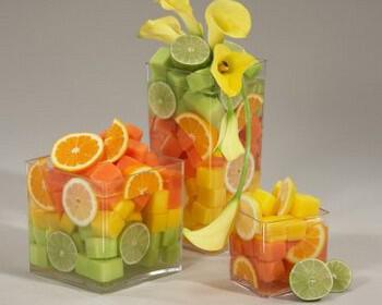 frouta stolismos deksiosi gamos 2 350x280 - Φρούτα για τη διακόσμηση του γάμου μια υπέροχη ιδέα