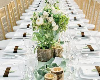 gamos trapezi kathisto deipno deksiosi 350x280 - Δεξίωση γάμου με buffet ή καθιστό δείπνο;