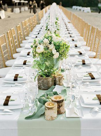 Δεξίωση γάμου με buffet ή καθιστό δείπνο;