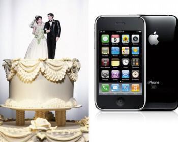 gamos iphone apple 350x280 - Ζευγάρι fun της APPLE παντρεύτηκε σε κατάστημα της εταιρίας