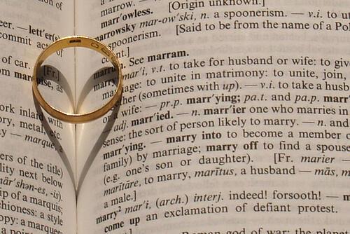 Λεξικό γάμου Τομέας Νύφη