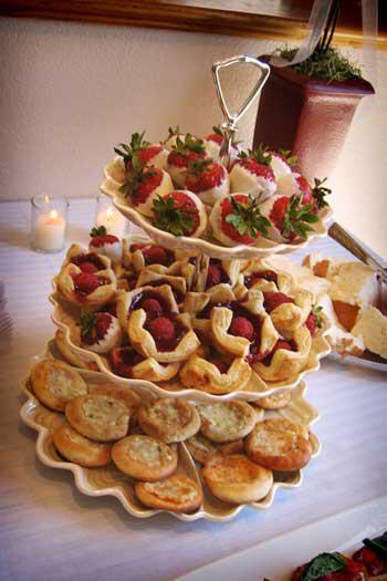 Καλοκαιρινό τραπέζι καλωσορίσματος για γάμο!