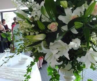 weddingreceptionflowers 336x280 - Λουλούδια για τη δεξίωση