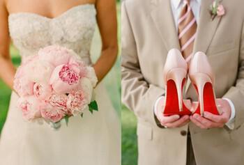xromatisma nifika papoutsia 7 - Χρωματιστά νυφικά παπούτσια