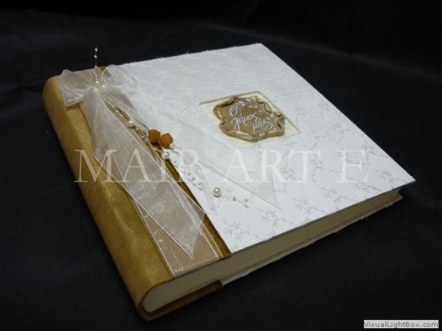 05 - Χειροποίητα καλλιτεχνικά βιβλία ευχών και άλμπουμ by MAIRARTE