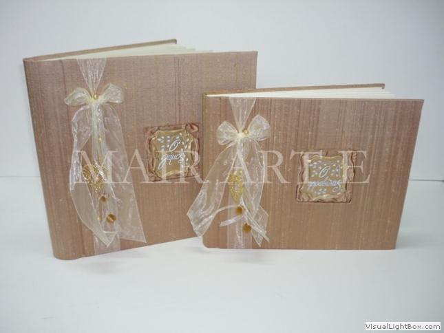 09 - Χειροποίητα καλλιτεχνικά βιβλία ευχών και άλμπουμ by MAIRARTE