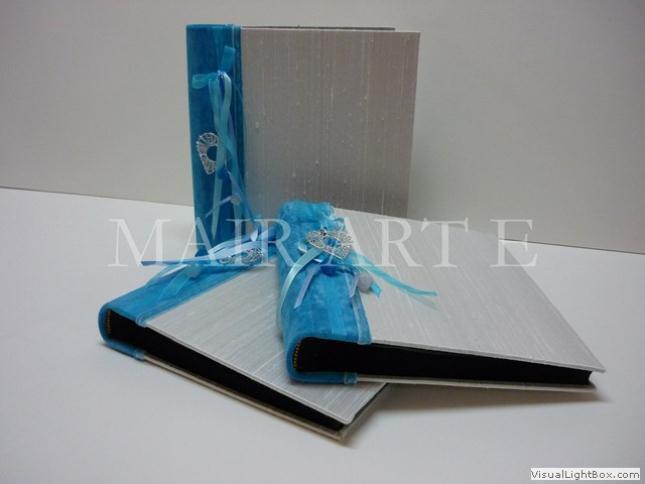 231 - Χειροποίητα καλλιτεχνικά βιβλία ευχών και άλμπουμ by MAIRARTE