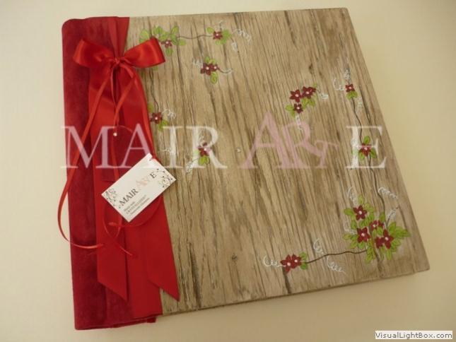 60 - Χειροποίητα καλλιτεχνικά βιβλία ευχών και άλμπουμ by MAIRARTE