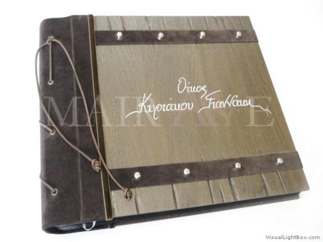 921 - Χειροποίητα καλλιτεχνικά βιβλία ευχών και άλμπουμ by MAIRARTE