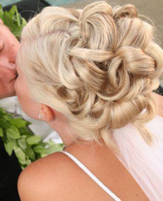 Blonde Bridal Hairstyle 26367 - Νυφικά χτενίσματα για Ξανθά μαλλιά