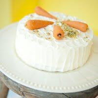 CakesandCheesecakes 6  Carrot cake with cream cheese frosting - Petits Gâteaux  «Κομψά» και νόστιμα γλυκά για το γάμο ή τη βάφτιση!