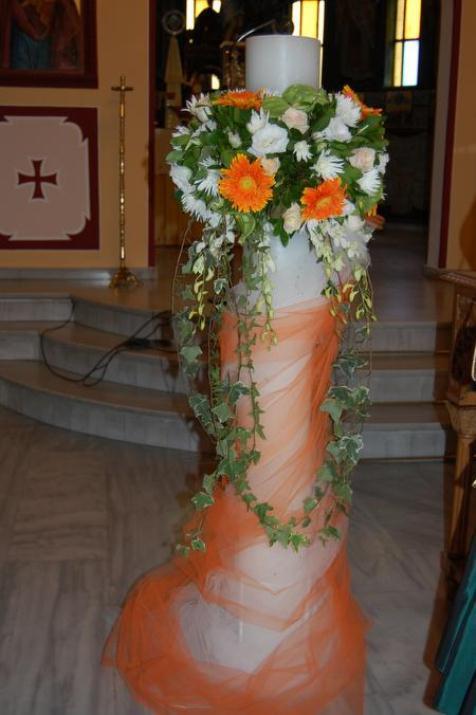 DSC 0270 - Λαμπάδες Γάμου Τα... αξεσουάρ της Τελετής