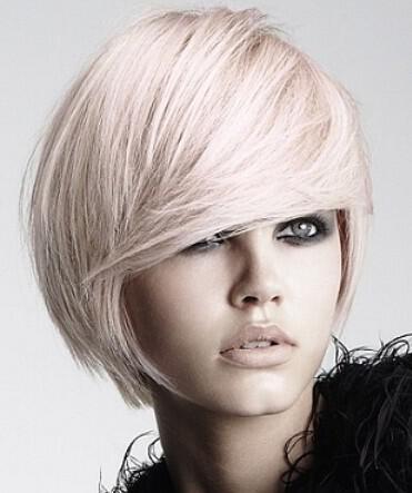 Romantic Short Edge Bob Hairstyle - Νυφικά χτενίσματα για Καρέ Μαλλια