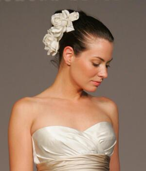 Wedding Hairstyles With Flowers - Νυφικά χτενίσματα για Σκούρα μαλλιά