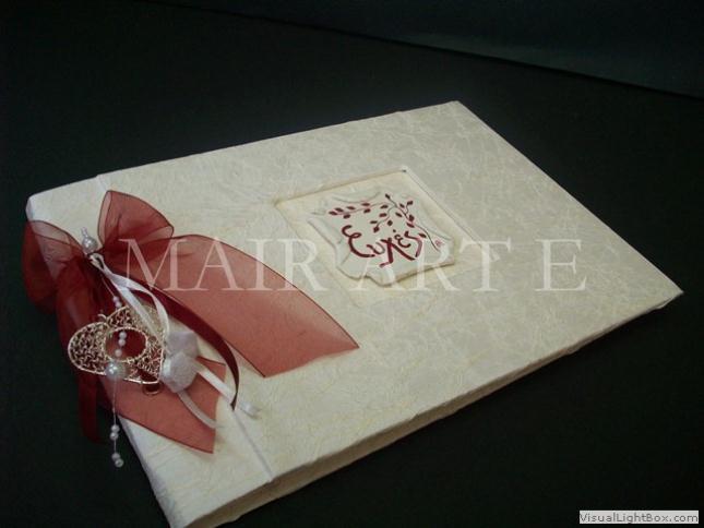a - Χειροποίητα καλλιτεχνικά βιβλία ευχών και άλμπουμ by MAIRARTE