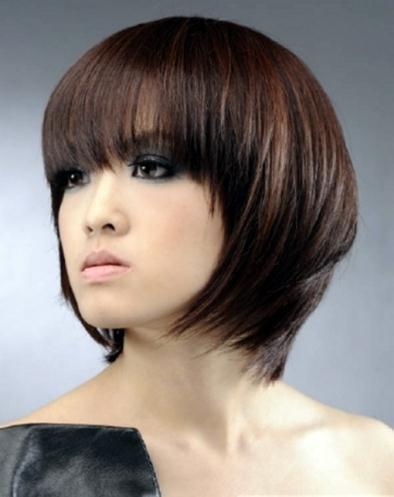 a cut above medium long hairstyles new women trend 2011 - Νυφικά χτενίσματα για Καρέ Μαλλια