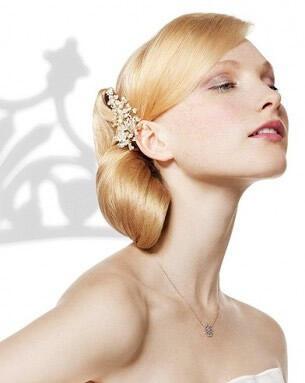 blonde hairstyles bridal makeup - Νυφικά χτενίσματα για Ξανθά μαλλιά