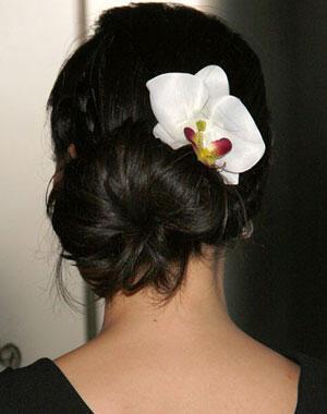 chignon hairstyle1 - Νυφικά χτενίσματα: Αριστοκρατικά Σινιόν