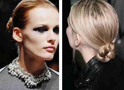 chignon hairstyles - Νυφικά χτενίσματα: Αριστοκρατικά Σινιόν