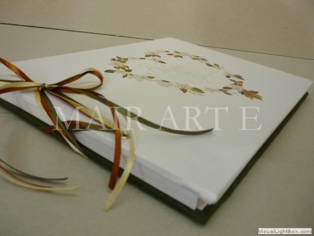 e - Χειροποίητα καλλιτεχνικά βιβλία ευχών και άλμπουμ by MAIRARTE