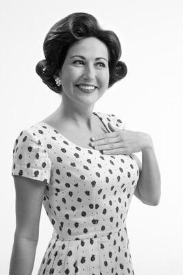 fifties hair11 - Νυφικά χτενίσματα για Καρέ Μαλλια
