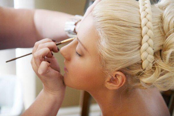 makeup hair 554 11 m - Νυφικά χτενίσματα για Ξανθά μαλλιά