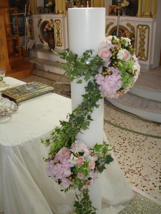 xatzigianni 007 - Λαμπάδες Γάμου Τα... αξεσουάρ της Τελετής