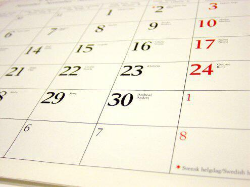 calendar - Απαγορευμένες ημέρες τέλεσης γάμου