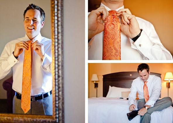 groom-getting-ready-hotel-room-traditional-oranges