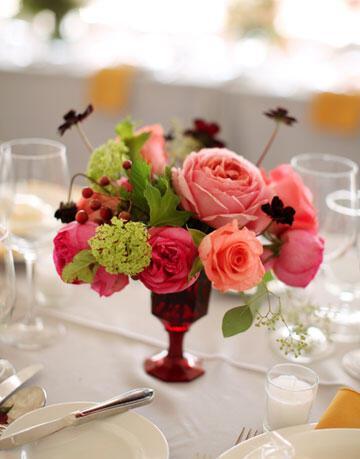 leslie randy realwedding 0311 426 xl Στολισμός τραπεζιών γάμου χρώμα ροζ!