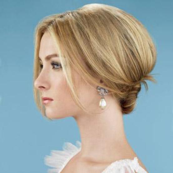 mature bridal hairstyle - Νυφικά χτενίσματα για νύφες άνω των 40