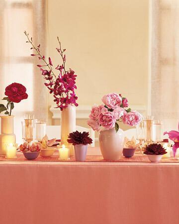 mw0604 rwdd19 xl Στολισμός τραπεζιών γάμου χρώμα ροζ!