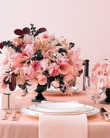 mwd103565 spr08 centerpiece xl Στολισμός τραπεζιών γάμου χρώμα ροζ!