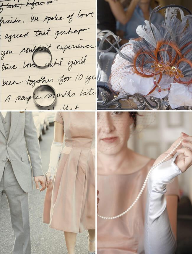 philadelphia vintage wedding 2 - Γάμος με vintage αέρα