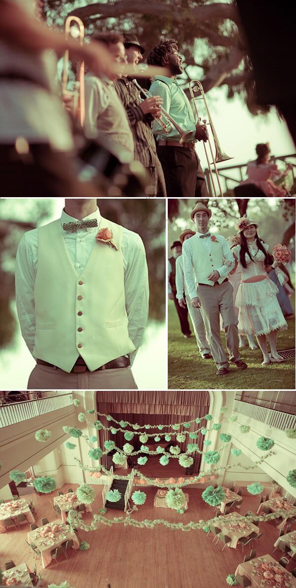 santa monica vintage wedding 6 - Γάμος με vintage αέρα