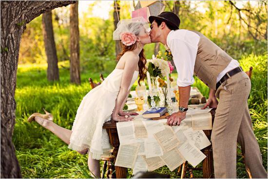 vintage wedding ideas1 - Γάμος με vintage αέρα