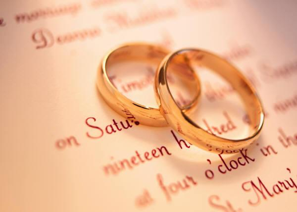 wedding rings - Απαγορευμένες ημέρες τέλεσης γάμου