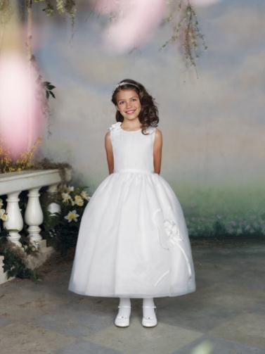 112303 white 0042 LR - Joan Calabrese Φορέματα για παρανυφάκια Συλλογή 2012