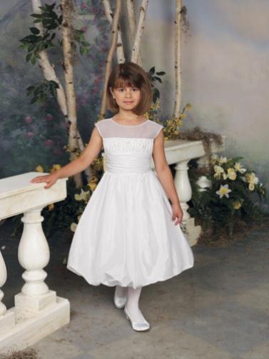 112307 white 0018 LR - Joan Calabrese Φορέματα για παρανυφάκια Συλλογή 2012