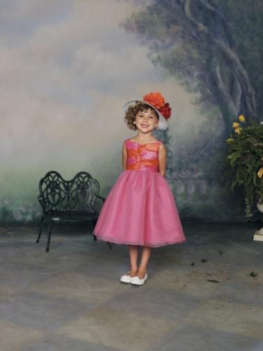 112335 crl pink 0002 color LR - Joan Calabrese Φορέματα για παρανυφάκια Συλλογή 2012