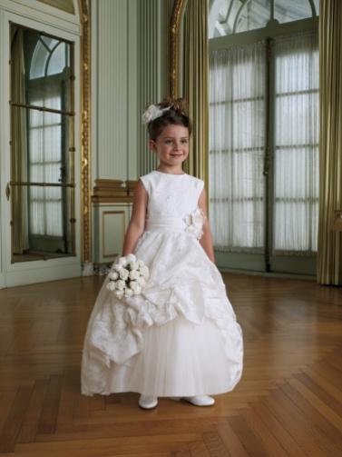 MC FLG 01 Ivory 022LR - Joan Calabrese Φορέματα για παρανυφάκια Συλλογή 2012