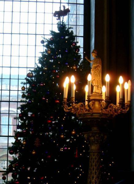 Tree and Roman candles 704502 - Οι «τάσεις» στα Χριστουγεννιάτικα Δένδρα
