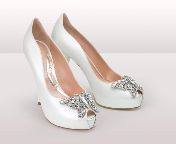 as191 farfalla ivory leather BG - Νυφικά παπούτσια  Aruna Seth Η νυφική της σειρά με πεταλούδες