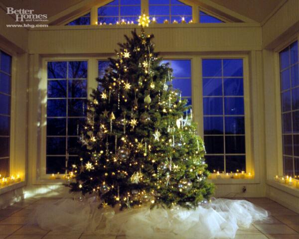 bhg christmas tree - Οι «τάσεις» στα Χριστουγεννιάτικα Δένδρα
