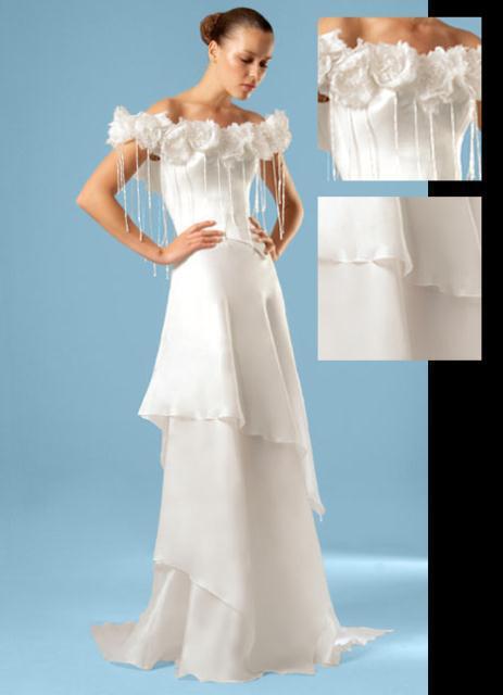 gown2 - COSTAS FALIAKOS by Christos Petridis Prêt-a-porter de luxe Marriage
