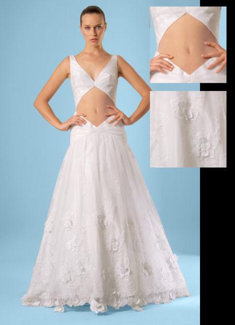 gown5 - COSTAS FALIAKOS by Christos Petridis Prêt-a-porter de luxe Marriage