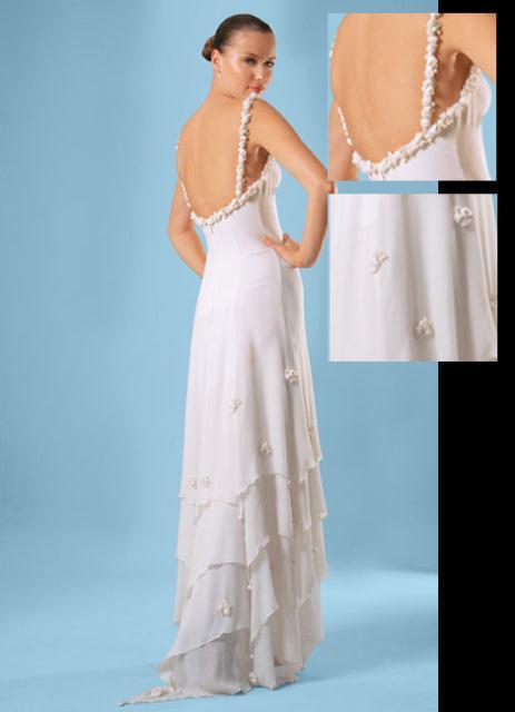 gown7 - COSTAS FALIAKOS by Christos Petridis Prêt-a-porter de luxe Marriage