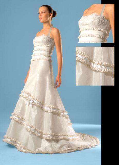 gown9 - COSTAS FALIAKOS by Christos Petridis Prêt-a-porter de luxe Marriage